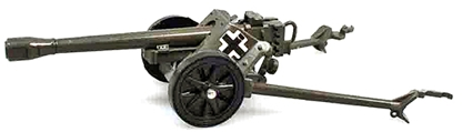 WWII German Pak 38 Anti-Tank Gun