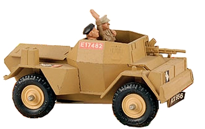 Deetail 8th Army Scout Car