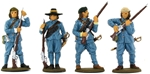 English Civil War Musketeers #1 - basic painted