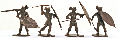 Zulu Warriors Set #1