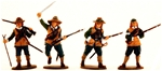 English Civil War Musketeers #2 - fully painted