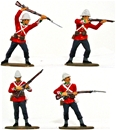 Zulu War British Infantry #1 - Fully painted