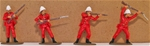 Zulu War British Infantry #1 -  Basic paint