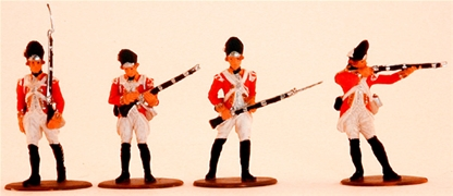 1776 British Grenadiers - fully painted