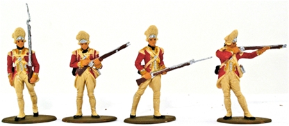 1776 British Grenadiers - Basic paint