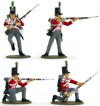 1812 British Light Infantry - fully painted