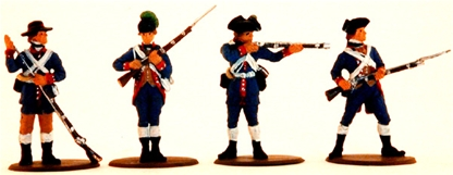 1776 Militia - fully painted