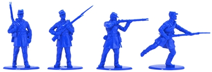 1863-Negro-Infantry---cast-in-mid-blue-color
