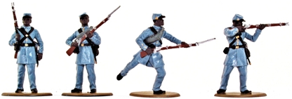 1863 Negro Infantry - basic painted