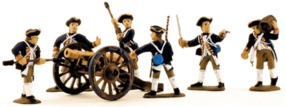 1776 British Artillerymen - fully painted