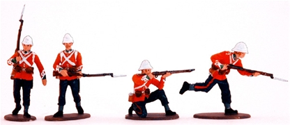 Zulu War British Infantry #2 - Fully painted