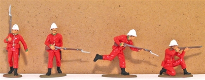 Zulu War British Infantry #2 - Basic paint