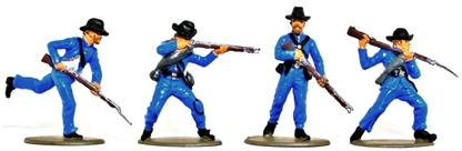 1863 Union Infantry - Basic painted