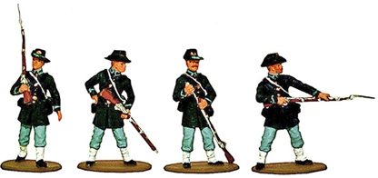 1863 Union Iron Brigade - Fully painted