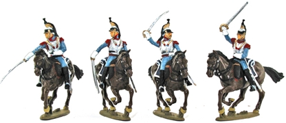 1812 French Cuirassier Cavalry - Basic paint