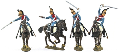 1812 French Dragoon Cavalry - Basic paint