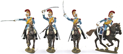 1812 French Carabinier Cavalry - Basic paint
