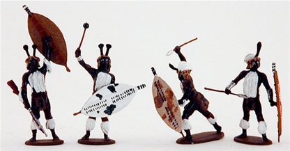 Zulu Warriors #3 - fully painted