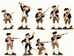 1776 Colonial Infantry - Fully painted version