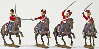 British Life Guards - Fully painted