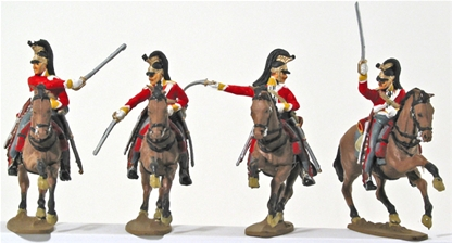 British Inniskilling Dragoons - Fully painted