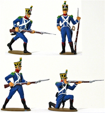 1812 French Light Infantry - Fully painted