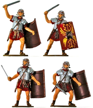 Roman Infantry - Fully painted - one set left