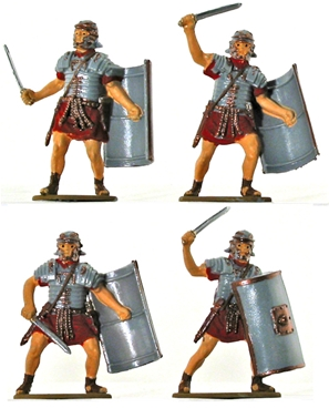 Roman Infantry - Basic painted