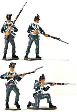 Napoleonic Belgian Infantry - fully painted