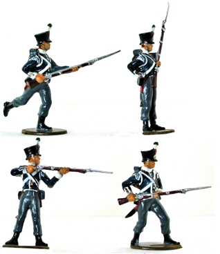 Napoleonic Dutch Infantry - fully painted