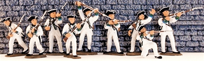 1776 French Infantry - Fully painted version