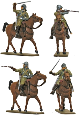 English Civil War Cavalry - Ironsides - Full paint