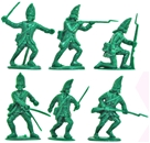 18th Century Russian Grenadiers - green color