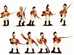 1776 British Infantry - Fully painted version