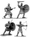 Ancient Philistines and Israelites - set of 8