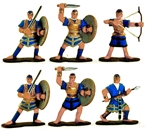 Ancient Philistine Heavy Infantry - Fully painted