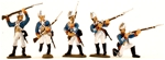 1776 Hessian Infantry - Fully painted version