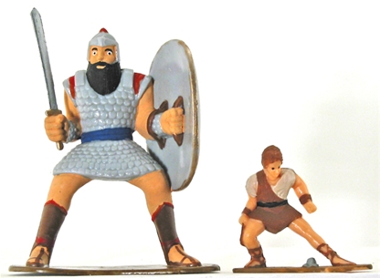 David & Goliath Battle Set - Various (Toy) | daywind.com |David And Goliath Action Figures