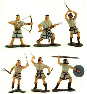 Ancient Philistine Light Infantry - Fully painted