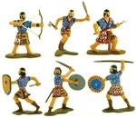 Ancient Israelite Light Infantry - Fully painted