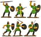 Ancient Persian Anatolian Guards - Fully painted