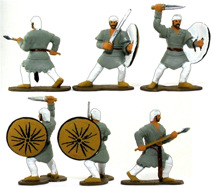 Ancient Persian 'Satrapal Levy' - Fully painted