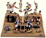1776 Redoubt - Fully painted version
