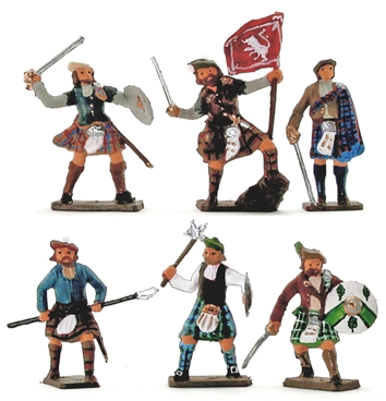 1745 Highlanders - fully painted