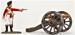 1776 Cannon - Basic painted version