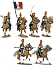 French Dragoon Cavalry - Fully painted