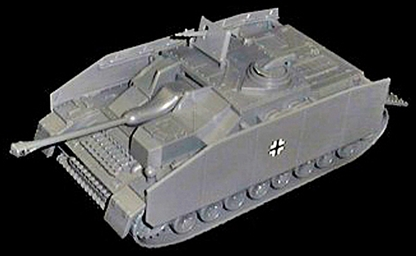 WWII German Stug IV with Side Armor Plates