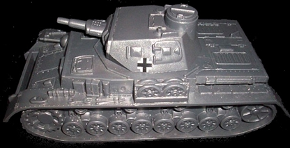 WWII German Short-Barreled Panzer IV Tank