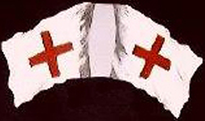 Red Cross Hospital Flag