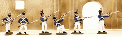 Mexican Tres Vilas Regiment - Fully painted